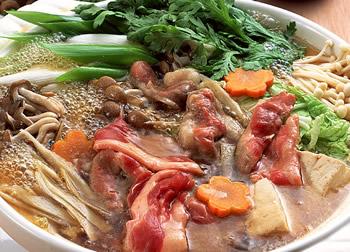 サロベツ合鴨鍋