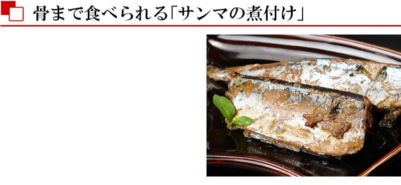 北海道産サンマ煮付け(ふっくら仕立て)