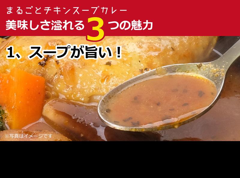 コクのあるスープが旨いスープカレー