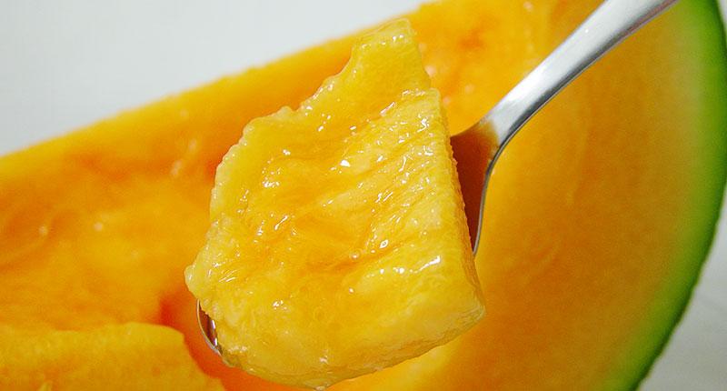 甘い果汁たっぷりの富良野メロン