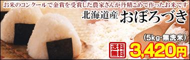 北海道産おぼろづき