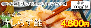 北海道産時しらず鮭