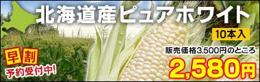 北海道産ピュアホワイトMIX(ミックス) 10本入