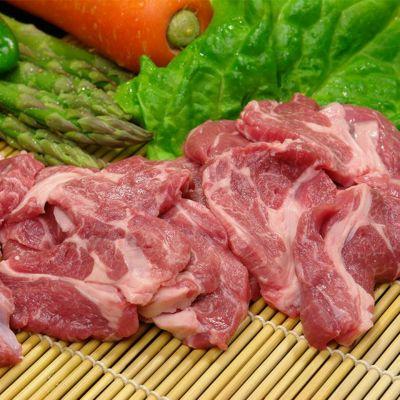 高見さんの生ラム肉ロース厚切り500g<冷凍>