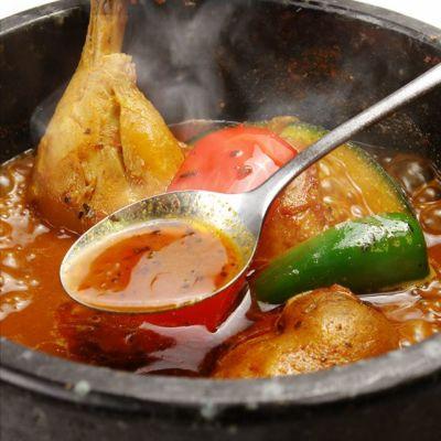 Saihok「まるごとチキン」激辛スープカレー×10パックセット