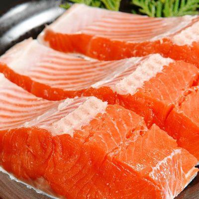 【セール】【特×3ランク】紅鮭半身700g前後